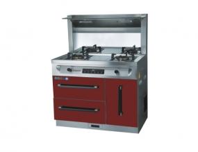 厨房电器招商燃气灶清洁需要的步骤
